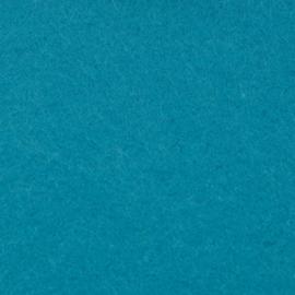 vilt blauw  2mm 30,5 x 30,5 cm