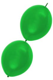 doorknoopballon groen
