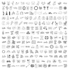 We R Memory Keepers USB Art Design Drive Icons and Words