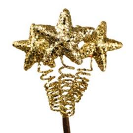 steker sterretjes goud glitter