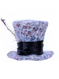 mad hatter hoed met veer