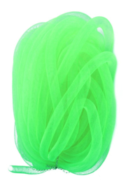 decoslang tube 16 mm neon groen 2,5 mtr