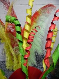 krul takken | rood/geel/groen
