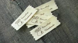 katoenen label jurkje