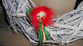 broche clowntjes/harlekijntjes