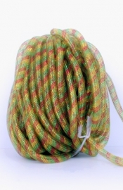 decoslang tube 16mm rood/geel/groen 2,5 mtr