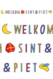 letterslinger Welkom Sint & Piet