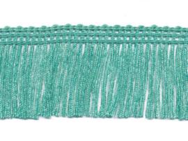 franjeband appelblauw/zeegroen