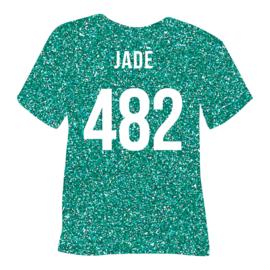 poli-flex pearl glitter | jade