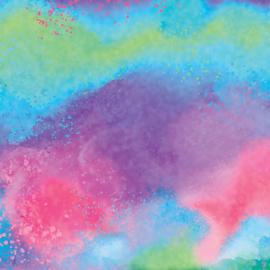 Infusible Ink ™ Transfe Sheet Patterns, Watercolor Splash