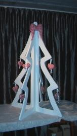 drie demensionale kerstboom