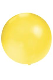 ballon 24 inch geel
