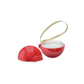 mini kerstbal met lipbalsem