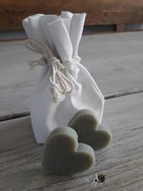 zeep hart | natural olive