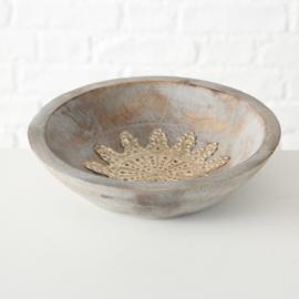 houten bowl