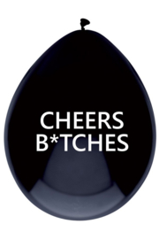 zwarte ballon | CHEERS B*TCHES