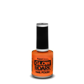 glow in the dark nagellak | oranje