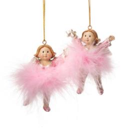 hanger engel roze