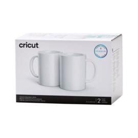 cricut mug wit  2 stuks 15oz