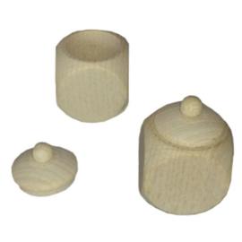 tanden/haarlok doosje met deksel