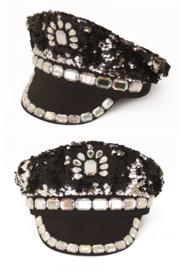 pet pailletten zwart luxe