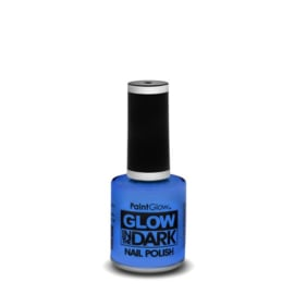 glow in the dark nagellak | blauw