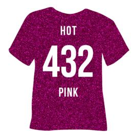 poli-flex pearl glitter | hot pink