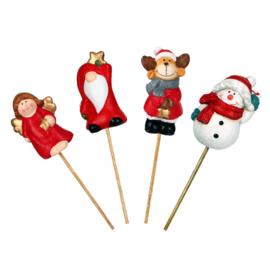 bijsteker aardewerk kerstfiguurtjes