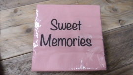 Duni servetten | sweet memories