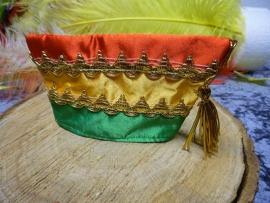 mini prinsen muts | rood/geel/groen