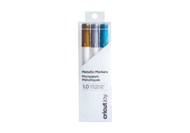 Cricut Joy Metallic markers  1,0 mm Gold, Silver, Blue