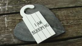 deurhanger I am sleeping