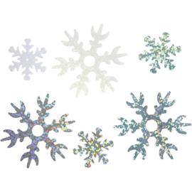 glitter sneewvlokken