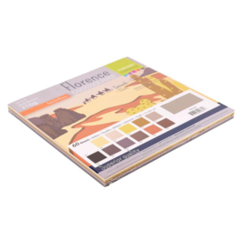 florence cardstock smooth | earth tones