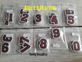 strijkapplicatie cijfers