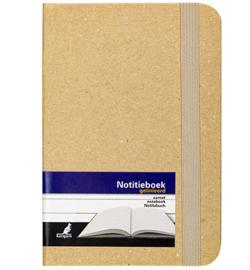 notitieboekje kraft gelinieerd A6