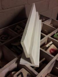 houten letterplank | dubbel