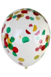 ballom transaparant confetti