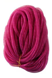 decoslang tube  16 mm neon roze