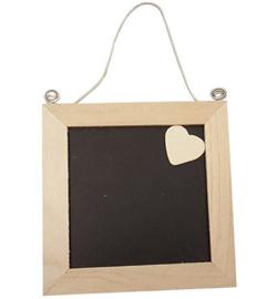 frame schoolbord met hartje