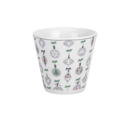 espresso cup xmas ornament