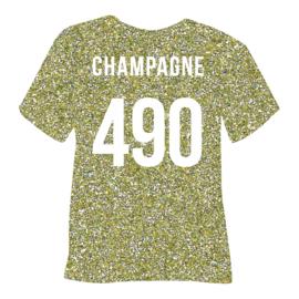 poli-flex pearl glitter | champagne