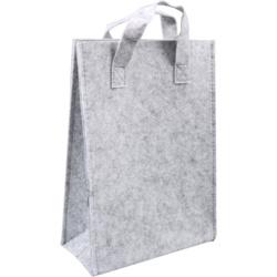 vilten tas licht grijs