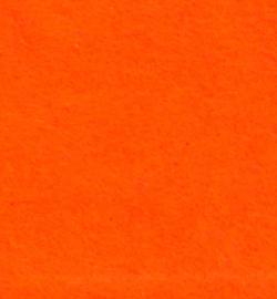 vilt neon oranje 1mm