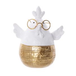 paasei kip met bril