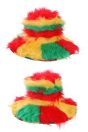 limbo  hoed rood/geel/groen