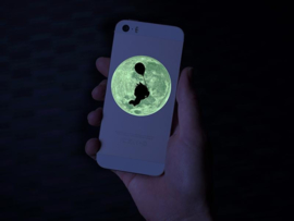 SILHOUETTE PRINTABLE GLOW IN THE DARK