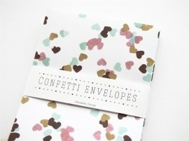 Confetti envelopes | SMALL