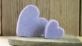 zeep hart lila
