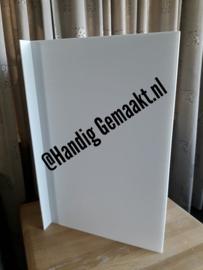blanco raambord/makelaarsbord
